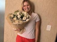 Marília Mendonça recebe flores de sertanejo Henrique: 'Carinho e cuidado'. Foto!