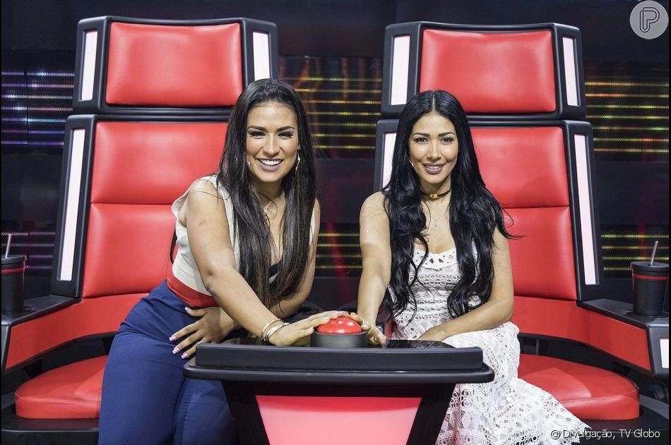 Simone, a caminho do 'The Voice Kids', falou sobre a presença de Neymar e Bruna Marquezine no ano passado em vídeo neste domingo, dia 17 de março de 2019