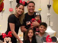 Safadão e Thyane Dantas comemoram 6 meses do filho com festa temática. Fotos!
