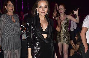 Larissa Manoela escolhe look com decote e ombreiras para festa. Inspire-se!