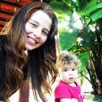 De novo visual, Debby Lagranha adora compartilhar momentos com a filha, Duda