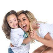 Sabrina Sato e Regina Duarte posam para calendário em apoio a crianças com Down