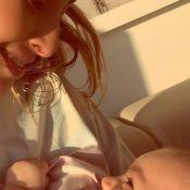 Sabrina Sato amamenta a filha no sol e explica importância: 'Ganhou vitamina D'