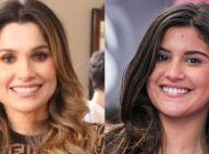 Quase irmãs! Flávia Alessandra e Giulia Costa chamam atenção em dia de malhação