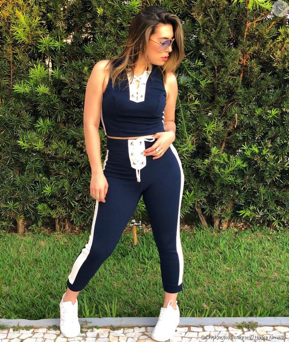 Naiara Azevedo mantém dieta balanceada durante viagens a trabalho: 'Extremamente regrada'