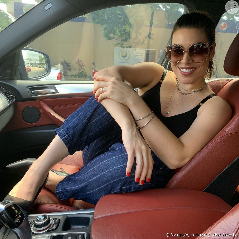 'Para eu poder estar como estou hoje, vivo uma vida extremamente regrada', declarou Naiara Azevedo
