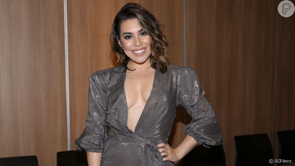 Naiara Azevedo contou que foi desaconselhada a ser cantora por conta do seu biotipo