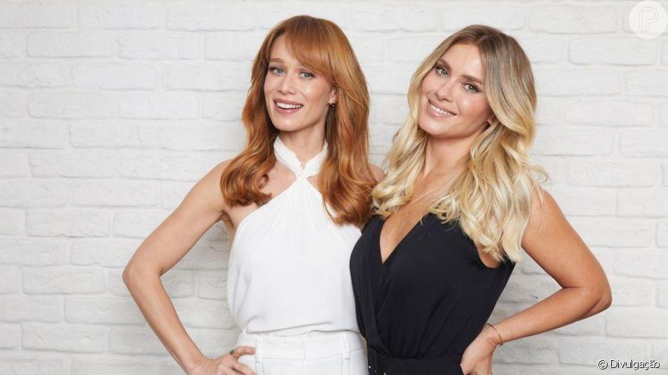 Mariana Ximenes e Carolina Dieckmann mudam a cor dos cabelos. Confira os detalhes!