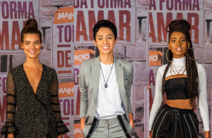 Terninho, brilho e glamour: os looks do elenco na coletiva da nova 'Malhação'