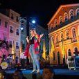 Marília Marília Mendonça fez show gratuito no Pelourinho, na Bahia