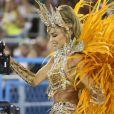 Grazi Massafera exibiu corpo definido durante as gravações da novela 'Bom Sucesso', na qual ela interpretará uma passista. A atriz gravou algumas cenas durante o desfile da Imperatriz Leopoldinense no Carnaval 2019.