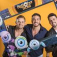 Final do 'BBB19': Diego, Gustavo e Maycon posaram juntos
