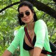 Mulher de Rodrigo Faro, Vera Viel é comparada à Bruna Marquezine em foto no Instagram, em 13 de abril de 2019