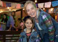 Angélica posa com irmã e sobrinha, mas filha, Eva, rouba a cena em foto. Veja!