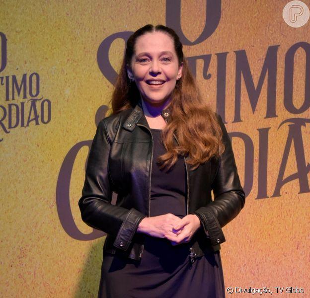 Judith (Isabela Garcia) é a assassina em série na novela 'O Sétimo Guardião'