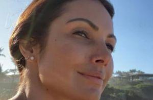 Patricia Poeta destaca beleza natural em foto sem maquiagem: 'Mais linda'
