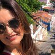 Fátima Bernardes foi elogiada por Túlio Gadêlha ao curtir passeio nesta sexta-feira santa, 19 de abril de 2019: 'Oh, linda'