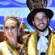 Fátima Bernardes e o namorado, Túlio Gadêlha, curtiram dois bailes de carnaval na mesma noite na pré-folia