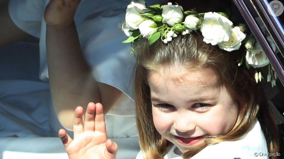 Filha de Kate Middleton e Príncipe William, Princesa Charlotte faz 4 anos nesta quinta-feira (2) e encanta o público com sua fofura, carisma e personalida forte.