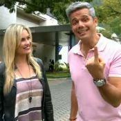 Otaviano Costa chama Ellen Rocche de Helen Ganzarolli no 'Vídeo Show'