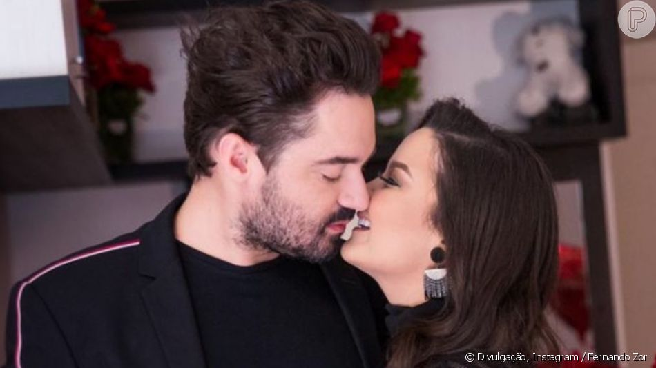 Fernando Zor surpreendeu Maiara com pedido de namoro nesta segunda-feira, 6 de maio de 2019