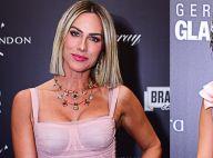Pink mood! Gio Ewbank e Julia Konrad usam look e make rosa millennial em prêmio