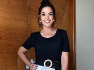 Thais Fersoza recorda 1ª gravidez com foto de biquíni: 'Eu me achava musa'