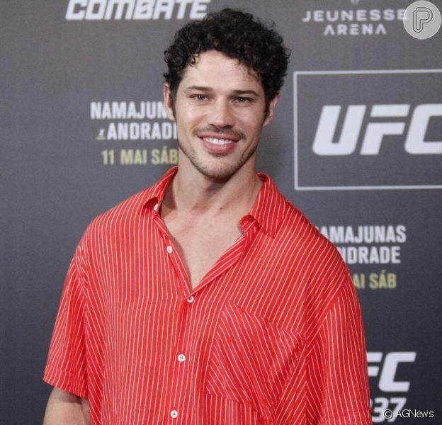 José Loreto chega sem aliança ao UFC 237, em 11 de maio de 2019