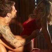 Hot couple! Bruno Gagliasso e Gio Ewbank posam juntos e ator brinca:'Se te pego'
