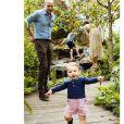 O pequeno Loius se divertindo com o pai, o príncipe Willian na área de Retorno à Natureza