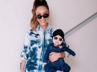 Fã de animal print! Filha de Sabrina Sato usa mix de estampas em look para festa