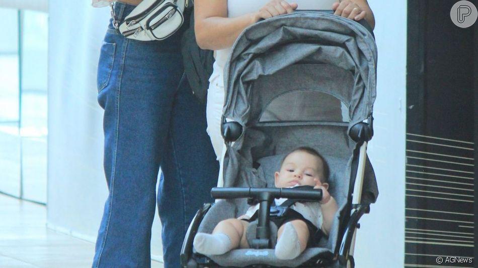Filho de Isis Valverde, Rael surgiu de 'piercing' no nariz aos 6 meses. Entenda!