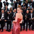 No Festival de Cannes, Marina Ruy Barbosa usa brincos de rubis e diamantes da joalheria Chopard