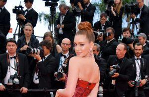 Brilho vermelho! Marina Ruy Barbosa arrasa em Cannes com vestido de paetês