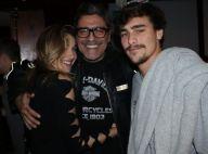 Sasha prestigia Junno Andrade no teatro ao lado do namorado, Bruno Montaleone