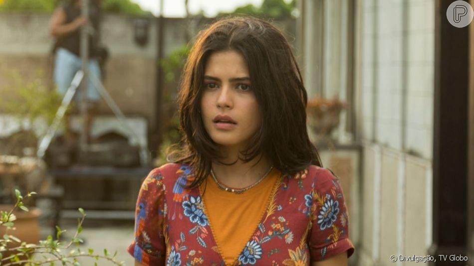 Helena (Carol Castro) vai contar para Laila (Julia Dalavia) sobre a gravidez e que o filho é de Elias (Marco Ricca) na novela 'Órfãos da Terra'.