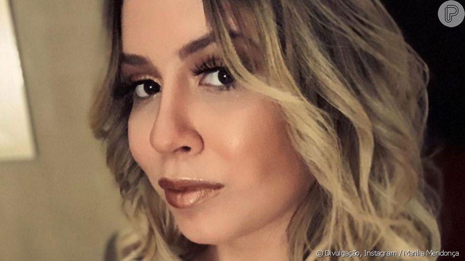 Marilia Mendonça  adotou novo corte de cabelo e exibiu o resultado no Instagram nesta terça-feira, 4 de junho de 2019
