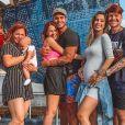 Família Poncio tem nova casa comparada com mansão de novela