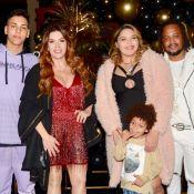 Filho de Simony reúne os pais em festa de 18 anos e ganha carro de luxo. Fotos!