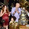Filho de Simony, Ryan comemorou 18 anos com os pais e irmãos