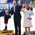 Kate Middleton usou o mesmo casaco em viagem pelo Canadá em 2016