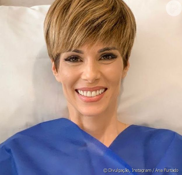 Ana Furtado contou que encerrou o tratamento do câncer de mama nesta segunda-feira, 10 de junho de 2019