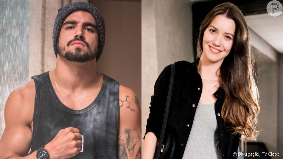Fabiana (Nathalia Dill) vai fazer sexo pela primeira vez na vida, e o responsável por tirar a virgindade da moça é Rock (Caio Castro) na novela 'A Dona do Pedaço'.