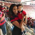 Aline Dias contou como concilia trabalho com a maternidade