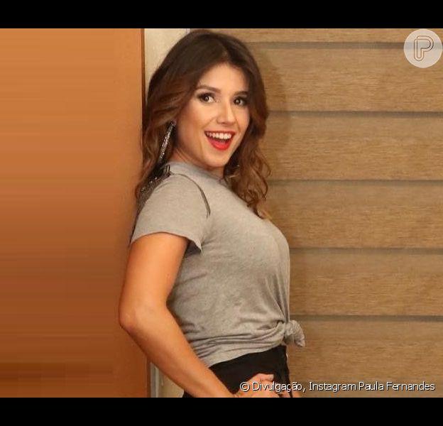 Paula Fernandes está namorando Rony Cecconello, informa o colunista Leo Dias, nesta quinta-feira, 13 de junho de 2019