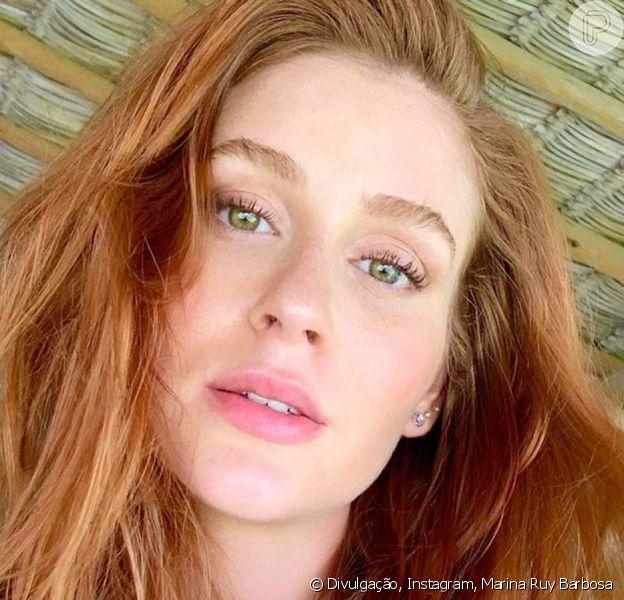 Marina Ruy Barbosa impressiona por semelhança com Sophia Abrahão em foto nesta sexta-feira, dia 14 de junho de 2019