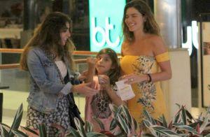 Cauã Reymond curte passeio com a filha e família de Mariana Goldfarb. Fotos!