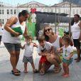' Ainda me lembro da entrevista que te dei quando me apaixonei por Portugal, há três anos', disse Luana Piovani