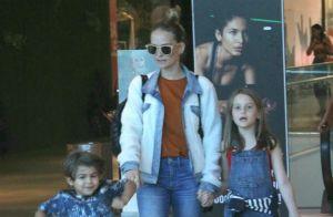 Filho de Fernanda Rodrigues rouba a cena durante passeio com a mãe e irmã. Fotos