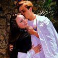 Larissa Manoela falou  sobre sempre estar namorando